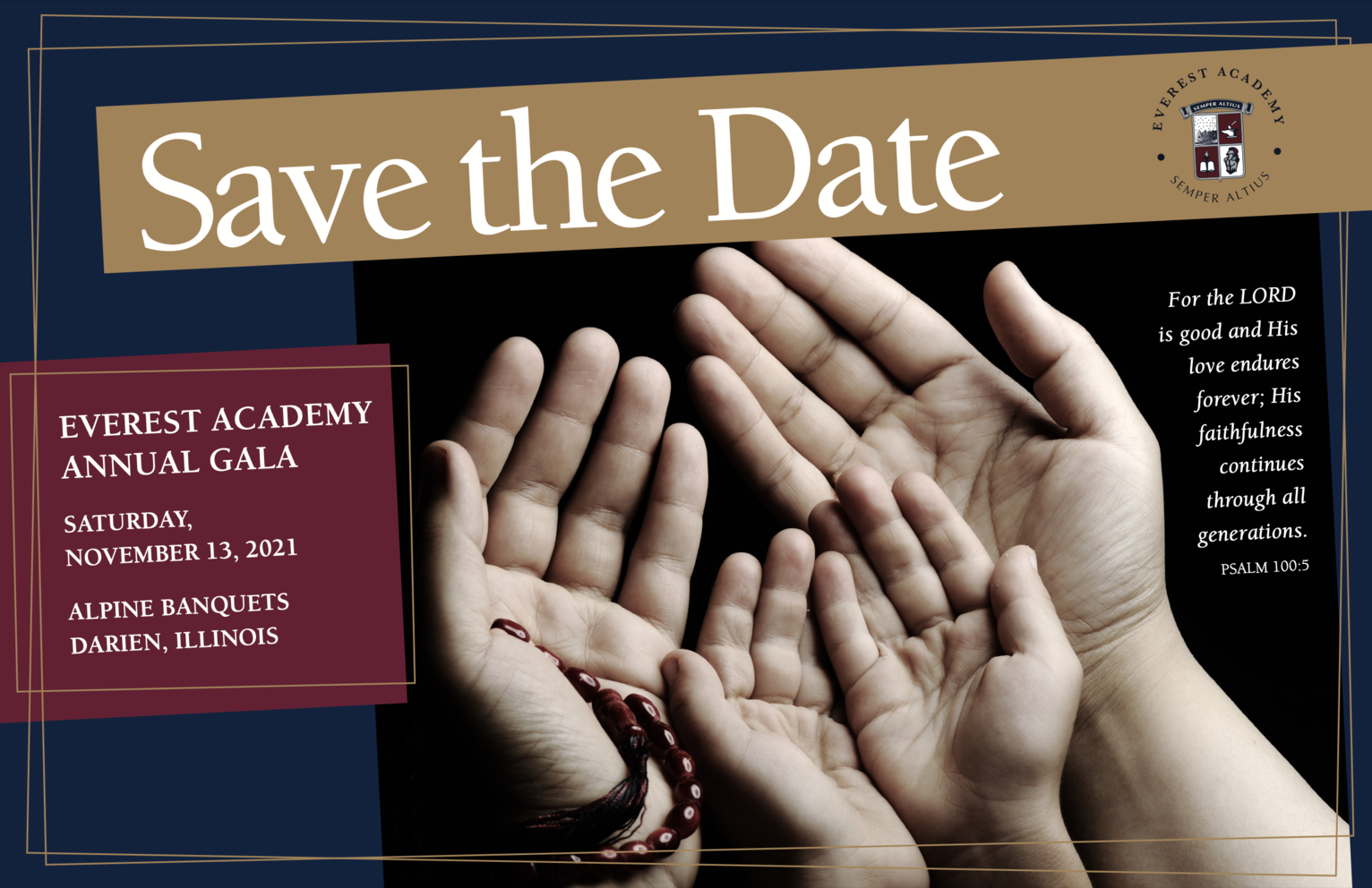 Save The Date Gala 2021
