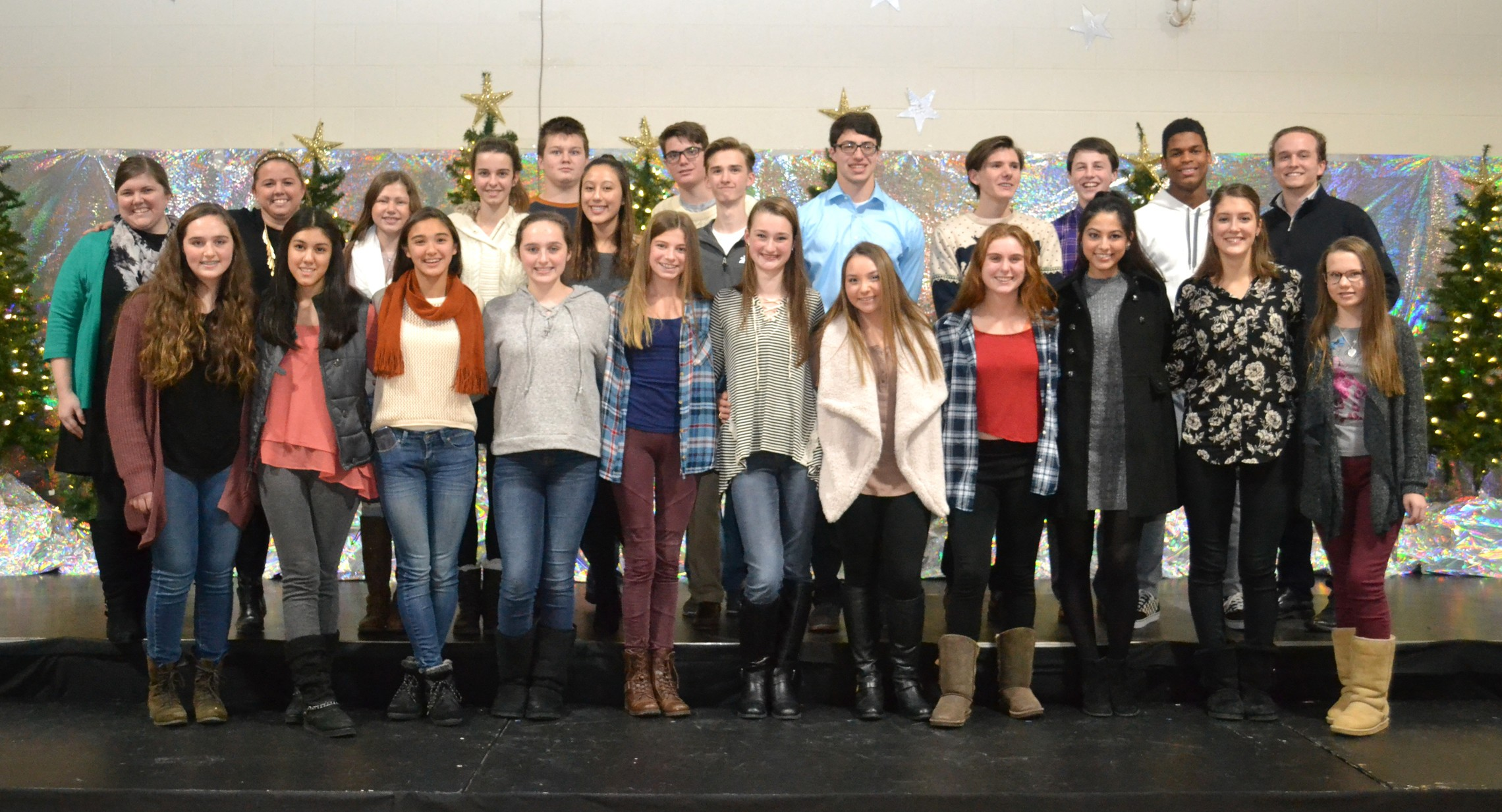 Alumni Who Came To 2016 Christmas Production